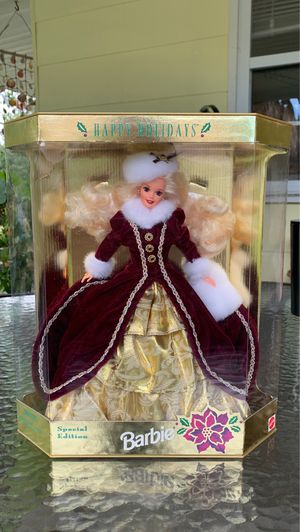 Happy Holidays Barbie 1996 for Sale in Gulfport, FL