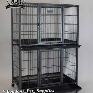 """NEW! 31"""" Two-Tier Heavy-Duty Dog Cage (Kennel) (Crate) for Sale in Moreno Valley, CA"""