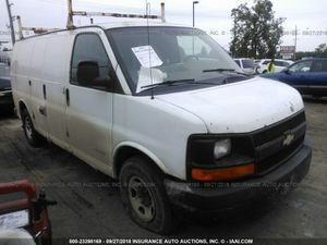 2005 Chevy 2500 series Express van- 4.8 engine, runs and drives good for Sale in Dearborn, MI