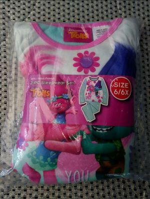 New Trolls Sleepwear Set (Size: 6/6x) 👉$5 Firm!👈 for Sale in Phoenix, AZ