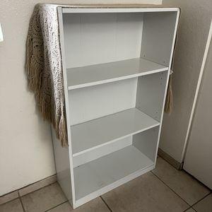 White Shelf Bookcase for Sale in Fontana, CA