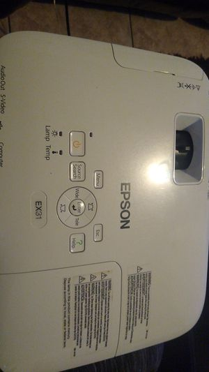 Epson lcd projector for Sale in Madera, CA