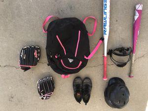 Used softball equipment for Sale in Rialto, CA