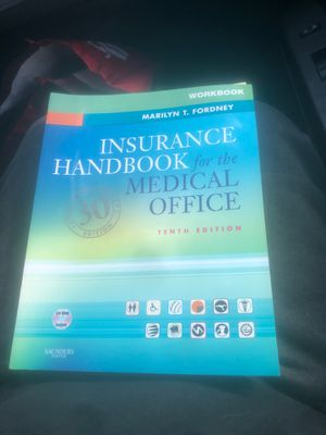 Insurance handbook for medical office 10th edition workbook for Sale in Laurel, MD