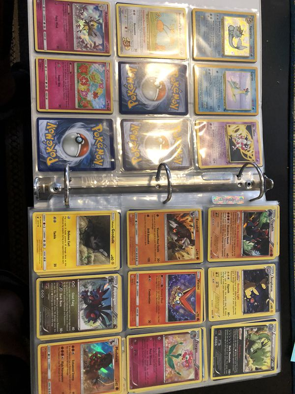 Pokemon card collection with unopened Kyurem decks