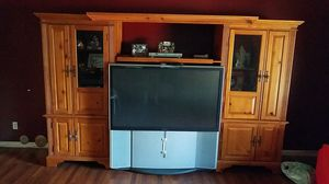 Entertainment Center / TV for Sale in Spring Valley, CA