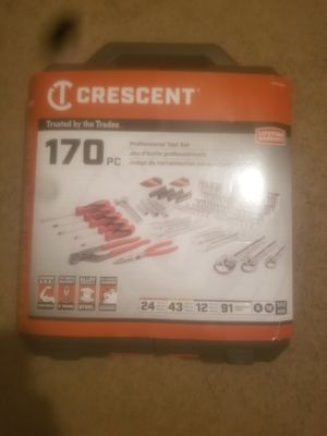 Crescent 170pc Professional Tool Set for Sale in Savannah, GA