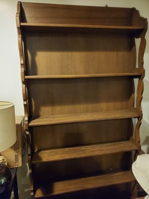 2 wooden bookshelves for Sale in Canadensis, PA