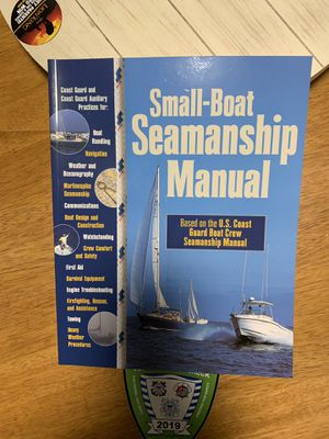 Small Boat Seamanship Manuals for Sale in Toms River, NJ