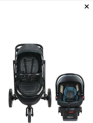 Graco 7 in 1 stroller and car seat gently used for Sale in Phoenixville, PA