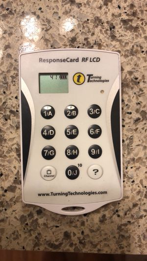 ResponseCard RF LCD for Sale in Austin, TX