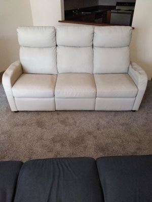 COUCH WITH RECLINERS for Sale in Wheat Ridge, CO