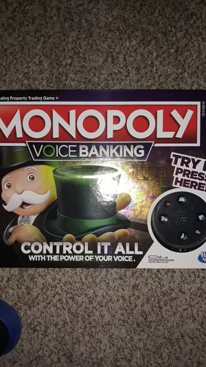 Monopoly Voice Banking. Used 3x. Basically brand new. for Sale in Lynnwood, WA