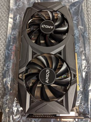 AMD Rx 580 4gb Graphics card Perfect Condition Never OC. for Sale in Jessup, PA