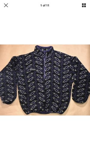 Aztec print COLUMBIA fleece made in USA for Sale in Chandler, AZ