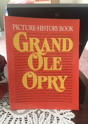 GRAND OLE OPRY Picture-History Book (Soft Cover, 176 Pages) for Sale in Parma, OH
