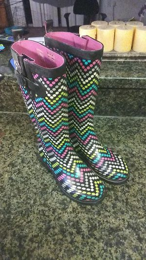 Rain boots size 6 great condition for Sale in Orlando, FL