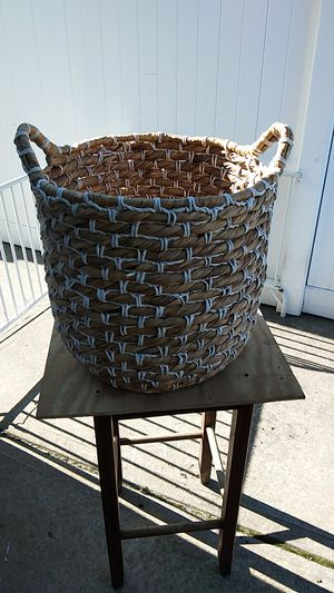 TAN WHIKER BASKET for Sale in Floral Park, NY