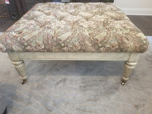 NEED GONE ASAP - MAKE AN OFFER! Patterned Ottoman great condition! for Sale in Atlanta, GA