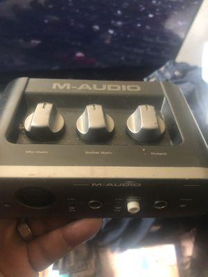 M Audio Box for Sale in Inkster, MI