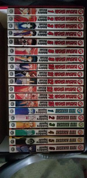 Book collection (Rurouni Kenshin/Yuyu Hakusho) for Sale in Evansville, IN