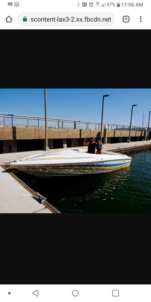 Baja 22 speed boat alpha 1 drive mag v8 sounds great turns heads for Sale in La Mesa, CA