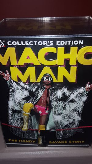 Limited Edition Macho Man Randy Savage Collector's Set for Sale in MONTGOMRY VLG, MD