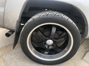 22 inch rims 6 lugs for Sale in Los Angeles, CA