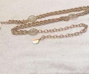 Michael Kors gold chain belt L/XL for Sale in Rex, GA