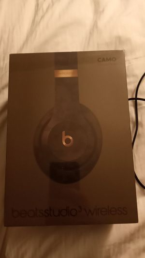 Beats Studio 3 wireless. Camo for Sale in San Diego, CA