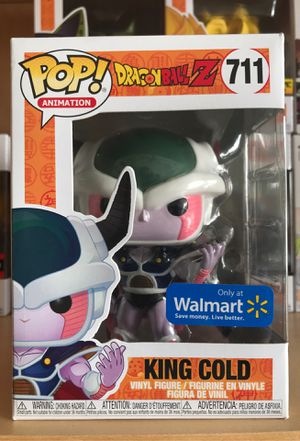 Dragonball Z Funko Pop King Cold for Sale in Plano, TX