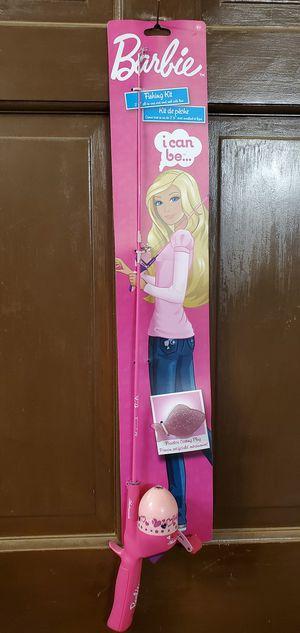 NEW Shakespeare Barbie Fishing Kit Rod & Reel for Sale in Chandler, AZ