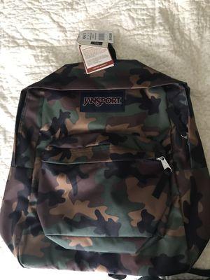 Jansport kids backpack (camouflage) for Sale in Duncanville, TX