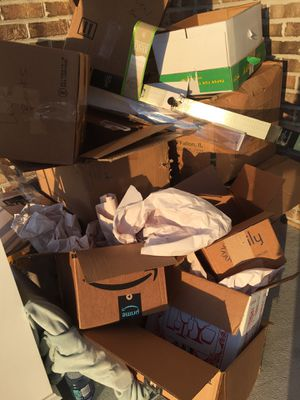 Free moving boxes and paper for Sale in Virginia Beach, VA