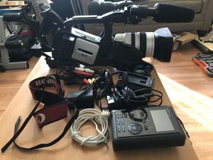 Canon XL2 camcorder with external hard drive for Sale in Washington, DC