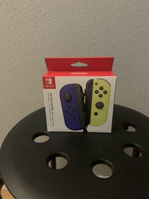 Nintendo - Joy-Con (L/R) Wireless Controllers for Nintendo Switch - Blue/Neon Yellow for Sale in Oceanside, CA