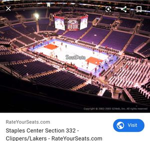 Clippers tickets 11/18 vs Okc! 730pm for Sale in Huntington Park, CA