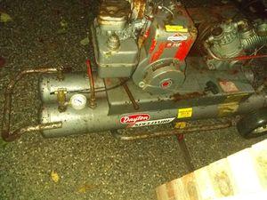 Dayton speedair 11 gal gas powered wheelbarrow compressor for Sale in Marysville, WA