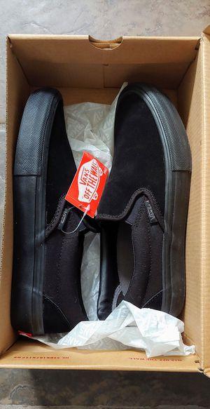 Brand New! Vans Blackout Slip-On Shoes for Sale in Gulfport, FL