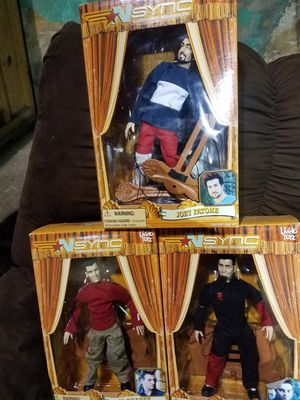 90's Collectible Toys N Sync, Spice Girls, Buzz Lightyear for Sale in Philadelphia, PA