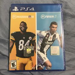 Madden 19 FIFA 19 Bundle For PS4 for Sale in East Chicago,  IN