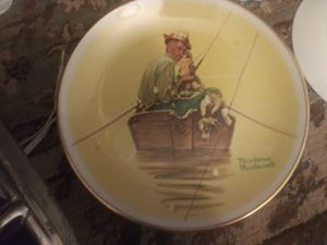 Norman Rockwell Plate Collection. Set of 3 for Sale in Dunedin, FL