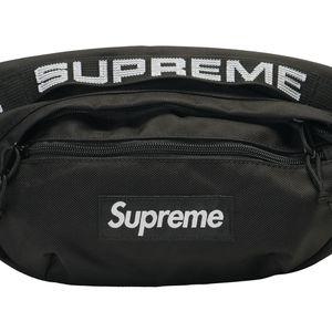 Supreme Black Fannypack Belt Bag for Sale in Stamford, CT