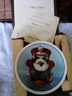 Mending Time plate for Sale in San Diego, CA