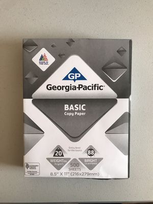 Georgia Pacific Basic Paper for Sale in Franklin, TN