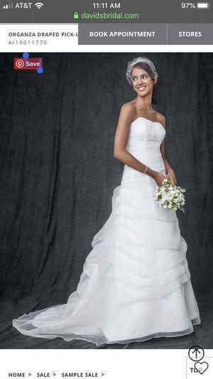 David's Bridal Strapless Wedding Dress for Sale in Hayward, CA