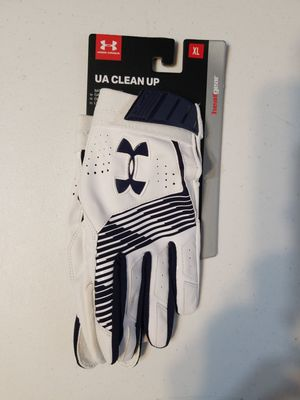 Under Armour UA Clean Up Baseball/Softball Batting Gloves for Sale in White Plains, GA