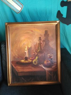 Beautiful 1960s OIL PAINTING for Sale in Port Neches, TX