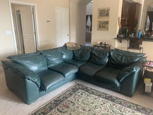 Italian Leather Couch for Sale in El Dorado Hills, CA