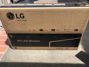 "LG 32"" & Viewsonic 24"" monitors for Sale in San Jose, CA"